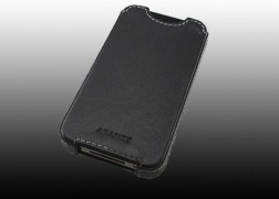 iPhone 4 Pouch Leather Case